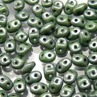 Matubo MiniDUO 2x4mm Green Luster Chalk 8gm Tube DU0403000-14459-TB - each