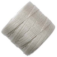 Superlon Cream Fine Bead Cord Tex 135 118 yards - each