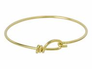 TierraCast Bright Brass Wire Bracelet