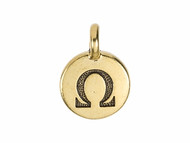 TierraCast Antique Gold Omega Charm each