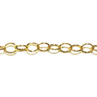 Gold Filled Chain Cable 4.7x3.6mm - per foot