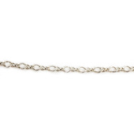 Sterling Silver Chain Cable 1.8mm - per 50 ft roll (24042)