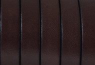 European Brown Flat Leather 10mm - per inch