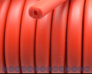 European Red Licorice Rubber10x7mm - per inch