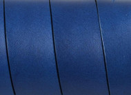 European Flat Leather Blue-Black 20x1.5mm - per inch