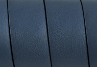 European Flat Leather Grey 20x1.5mm - per inch