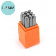 ImpressArt 1.5mm Basic Number Stamp Set Economy - set