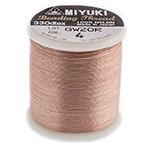 Miyuki Nylon Bead Thread Size B Blush 50M