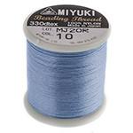 Miyuki Nylon Bead Thread Size B Light Blue 50M