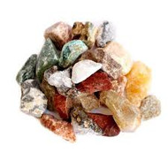 Mixed Rough Stone for Lapidary Tumbling 1lb Bag - each