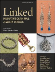 Linked Innovative Chain Mail Jewelry Designs - Karin Van Voorhees