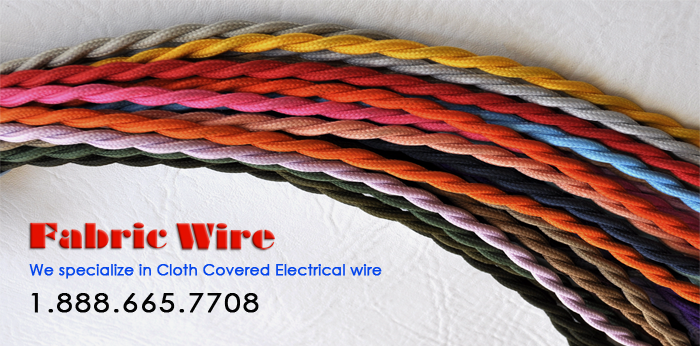 Cloth Covered Wire - AWM Twisted