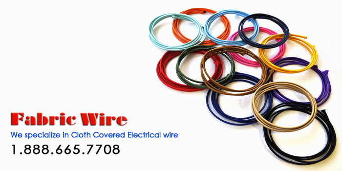 Cloth Covered Wire - SPT Lamp Cord Wire