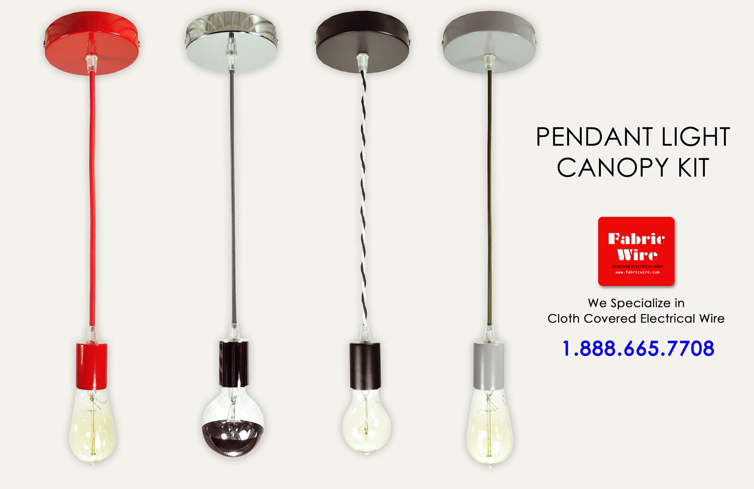 Pendant Light Kit Canopy Kit