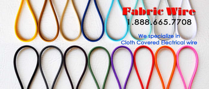 Cloth Covered Wire - SPT Flat parallel