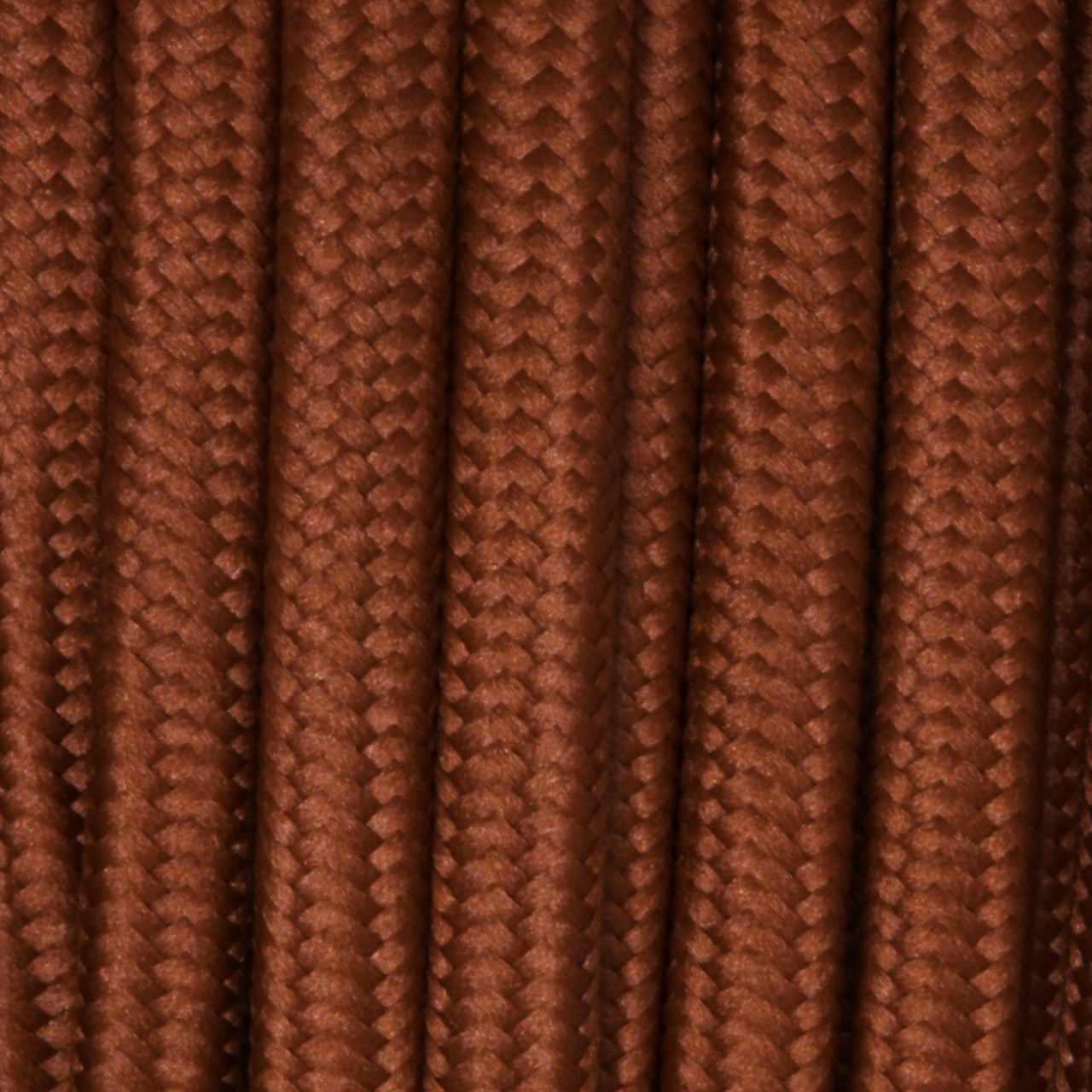 Burnt Flat Cloth Covered Wire 250 Ft Roll