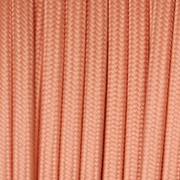 True Pink - Flat Cloth Covered Wire (250 Ft / Roll)