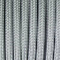 Slate Gray - Flat Cloth Covered Wire (250 Ft / Roll)