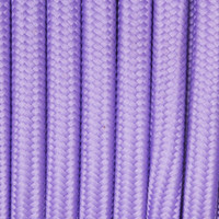 Medium Purple - Flat Cloth Covered Wire (250 Ft / Roll)