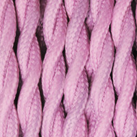 Lavender - Twisted Cloth Covered Wire (250 Ft / Roll)