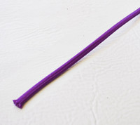 Violet - Flat Cloth Covered Wire (Per Foot)