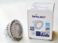 LED MR16, 3K, 6W, 12V, 10 PACKS