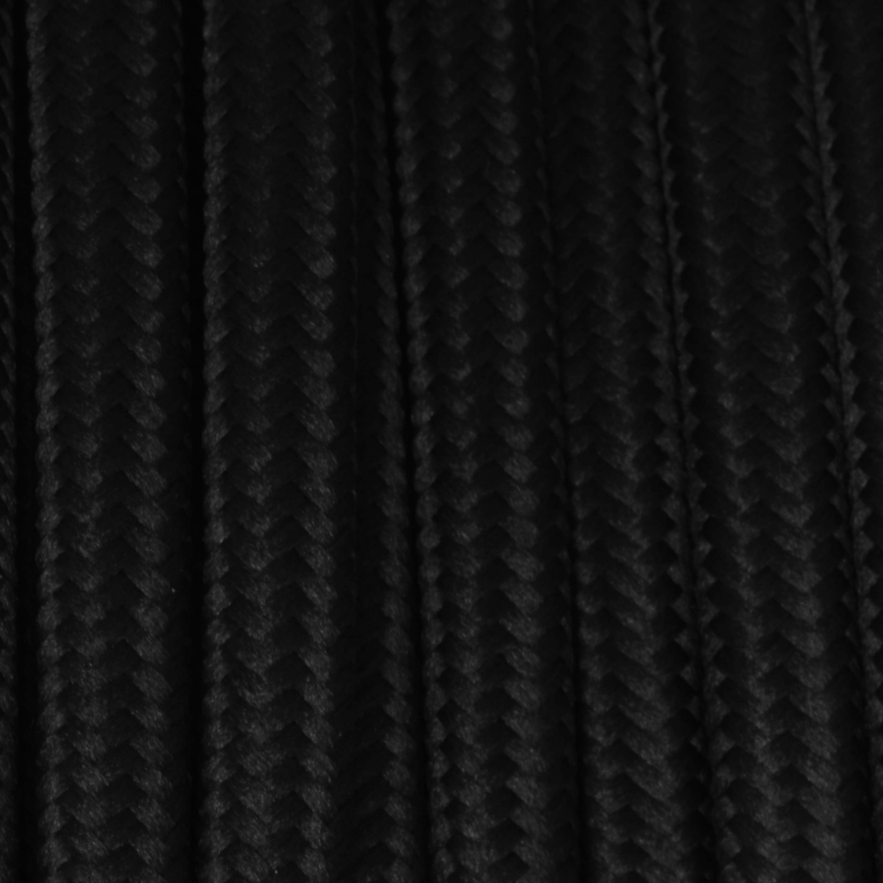 Black Wire Cloth : True black round cloth covered wire ft roll