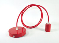 Pendant Light Canopy Kit - Red