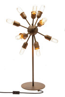 Industrial Aged Steel Table Lamp