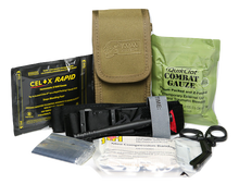 Belt Gunshot Kit, Portable and Great for On Duty Police, On The Range Practice and Hunting Activities etc.