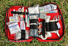 Grab and Go Mini Trauma Kit, First Aid Kit, with Celox and SWAT Tourniquet