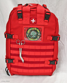 First Aid Kit Backpack Medical Supplies Bag