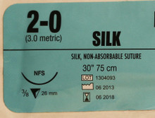 Silk Suture 2-0