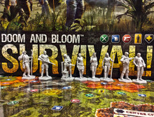 Miniatures for Doom and Bloom SURVIVAL! Board Game