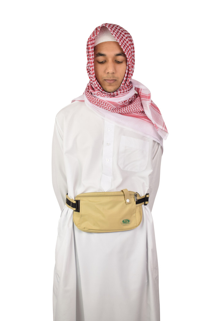 Hajj & Umrah - Anti-Theft Waist Bag And Ihram Belt