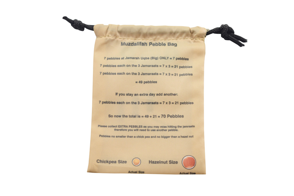 Muzdalifah - Stone Bag - Pack of 2