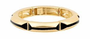 Belle Noel Enameled Stretch Bracelet by Kim Kardashian