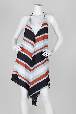 70'S PRINTED HANDKERCHIEF DRESS