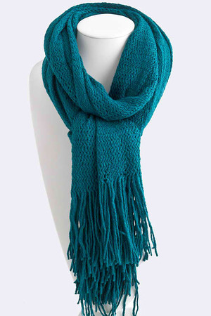 Loose Knit Dual Wear Scarf (more colors)