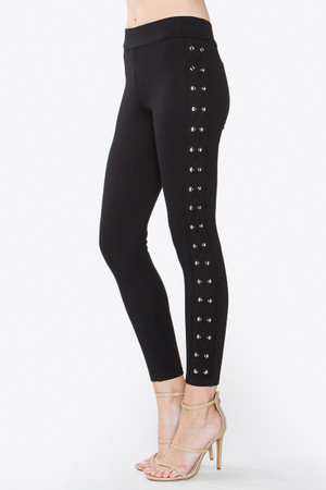 ROWAN EYELET LEGGINGS