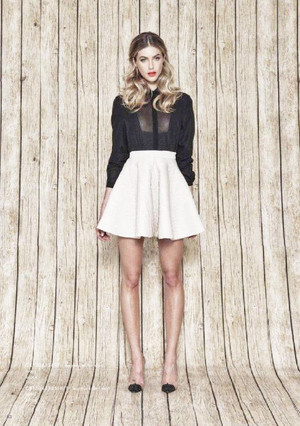 Cameo Karma Killer Circle Skirt Ivory