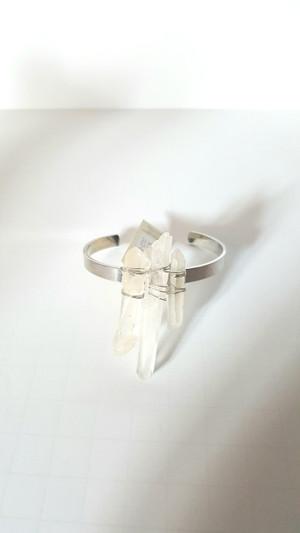Layer Crystal CUFF Bracelet