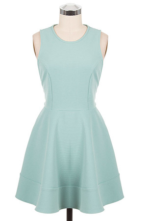 Skater Dress Dusty Mint