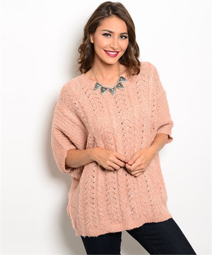 ROSE SWEATER ONE SIZE