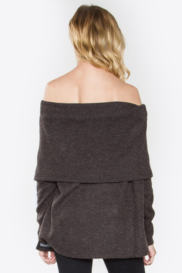 BAILEY OFF THE SHOULDER SWEATER