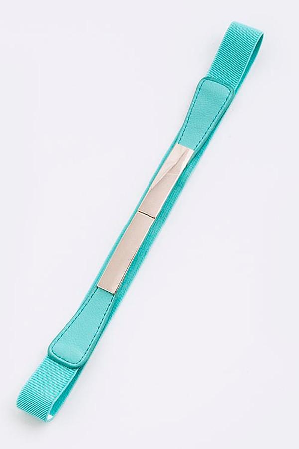 Bar Buckle Belt