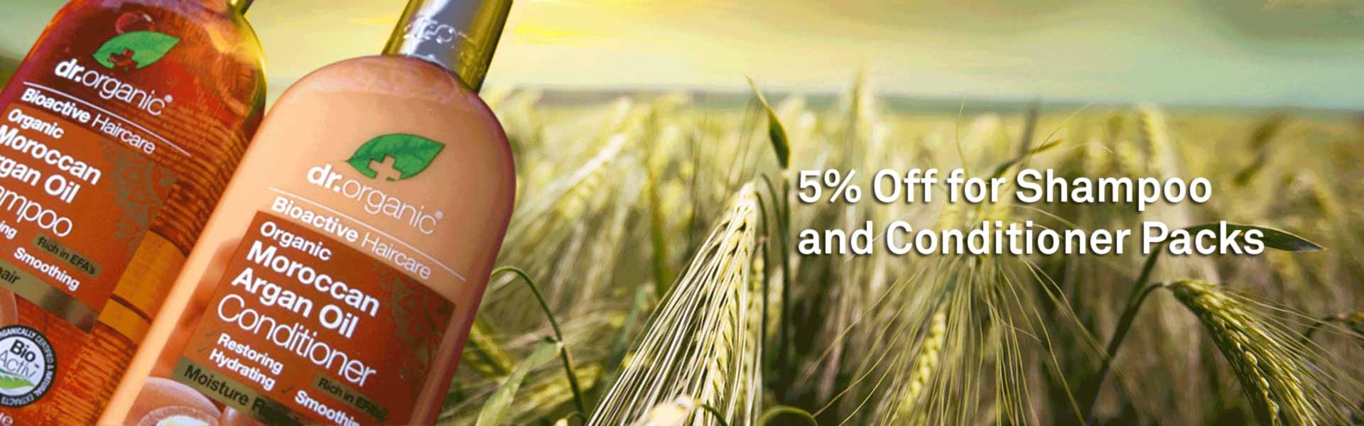 Dr Organics - 5% Off