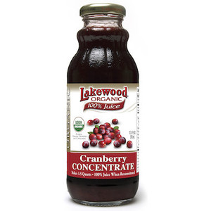 Cranberry Juice Concentrate Organic 370mL