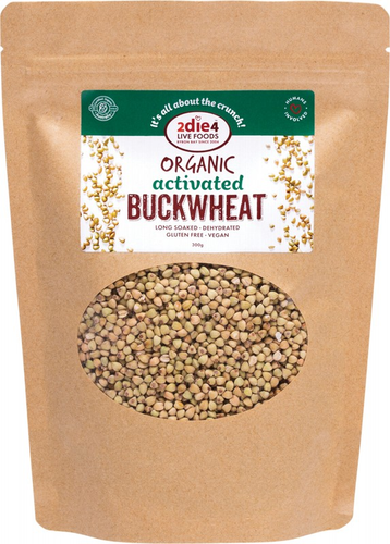 2DIE4 LIVE FOODS Activated Buckwheat 300g