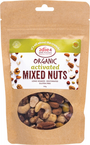2DIE4 LIVE FOODS Activated Mixed Nuts